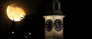 Forteresse de Petrovaradin la nuit