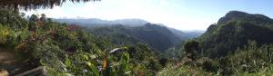 Vue sur les montagnes à Ella