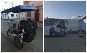 Départ pour varadero en bici taxi
